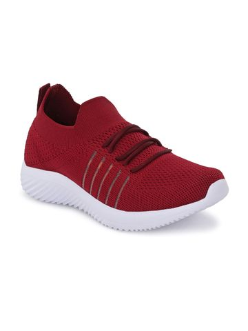 Hirolas | Hirolas® Sports Casual Running Shoes Walking Jogging Gym Sneakers Comfortable Breathable Trainers Athletic Sports Shoes for women - Maroon