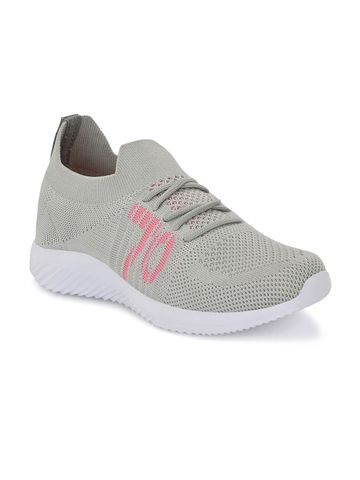 Hirolas | Hirolas® Sports Casual Running Shoes Walking Jogging Gym Sneakers Comfortable Breathable Trainers Athletic Sports Shoes for women - Grey