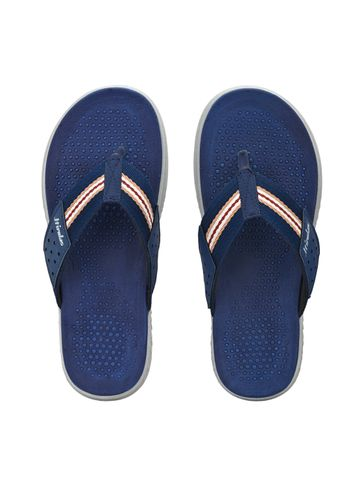 Hirolas | HIROLAS CLOUDWALK | Comfortable | Ultra-Soft | Light-Weight | Shock Absorbent | Bounce Back Technology | Water-Resistant | Flip Flops | Slippers for Men - Blue