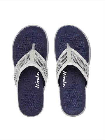 Hirolas | Hirolas® CLOUDWALK | Bounce Back Technology | Slippers for Men - Light Grey