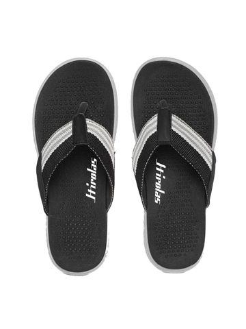 Hirolas   Hirolas® CLOUDWALK   Bounce Back Technology   Slippers for Men - Black