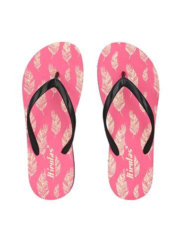 Hirolas   Hirolas® Pink Flip Flop  Slippers for Women