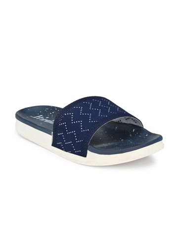 Hirolas   Hirolas® Women Knitted Slipper Sliders - Blue