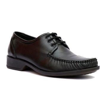 Hitz | Hitz Black Leather Comfort_Shoes For Men
