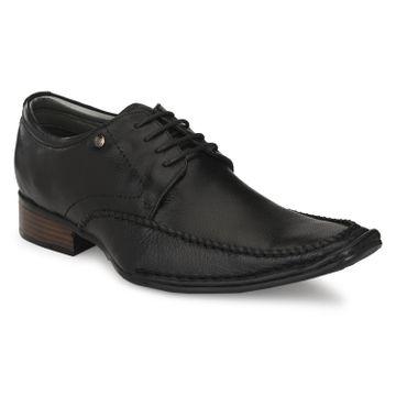 Hitz | Hitz Black_Genuine Leather Slip-On Party Wear Shoes For Men