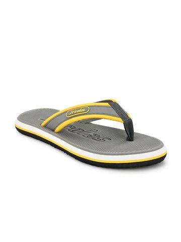 Hirolas | Hirolas Fabrication embossed Flip-Flop Slippers - Grey