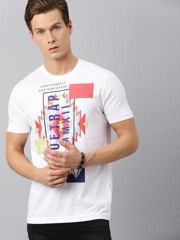 HUETRAP   Huetrap Mens Round neck Short sleeve Rogue Graphic Tee