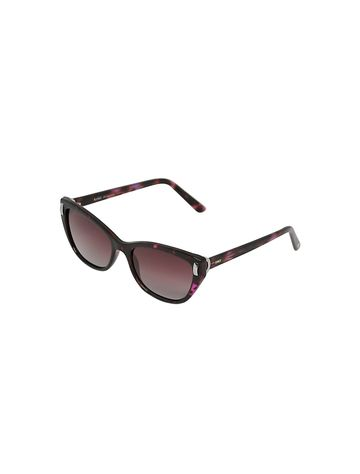 ENRICO | ENRICO Dahlia UV Protected & Polarized Cateye Sunglasses for Women ( Lens - Pink | Frame - Pink)