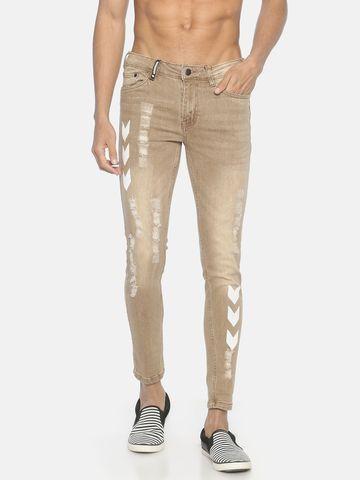 IMPACKT   Impackt ripped printed denim jeans