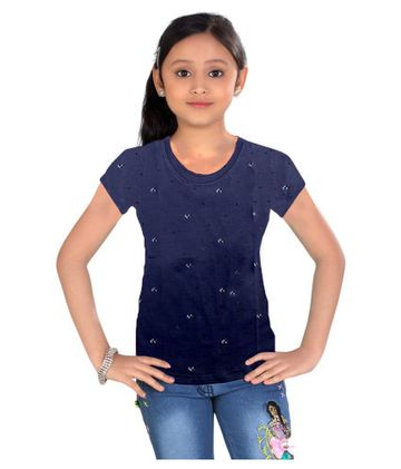 Impex | Impex Grey Printed Tshirt For Girl