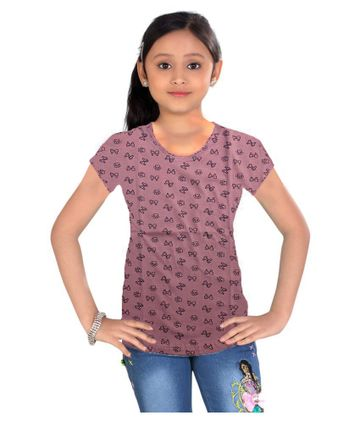 Impex | Impex Printed Pink Tshirt For Girl