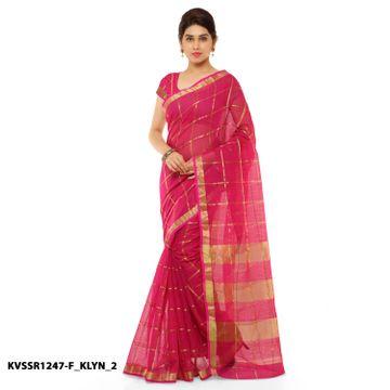 SATIMA | Satima PinkCotton SilkPrinted Saree