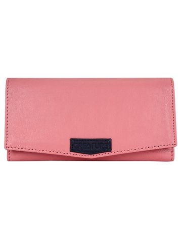 CREATURE | CREATURE Pink Stylish Genuine Leather Clutch for Women