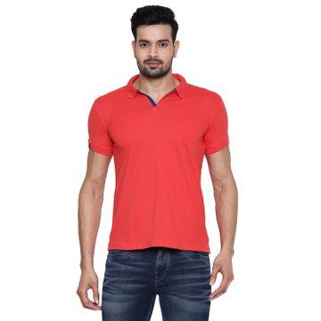 Integriti | Integriti Red Slim Fit Men's T-Shirts