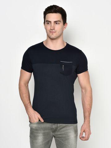 OCTAVE | Men NAVY T-Shirts