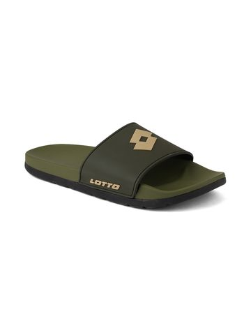Lotto | Men's Lotto Slider Beige Slippers