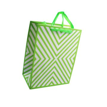 iLife | iLife Gift Bags -12 Pcs Paper Bags with Handles Bulk, Shopping Bags Retail Bags, Shopping,Parties,Wedding, Baby Shower, Birthdays, Father's Day, Holidays and More Paper Gift Bags Green