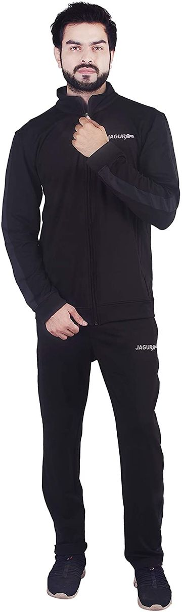 JAGURO   JAGURO Men's Polyester Tracksuit.