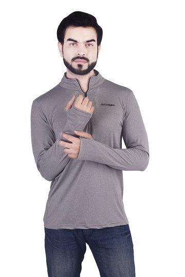 JAGURO   JAGURO Full Sleeves Thumb T-Shirt.