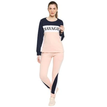 Jhankhi | Jhankhi Cotton Pink Track Suit