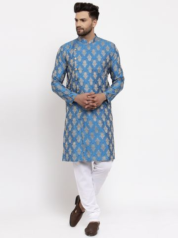 Jompers | Jompers® Men's Woven Side Button Kurta Pajama