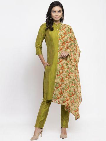 Jompers | Jompers® Women Kurta Kurta with Pants and Printed Dupatta