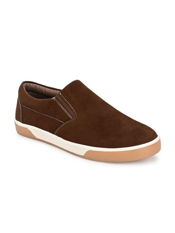 Guava | Guava Men Slip-on Casual Loafer Shoes - Brown
