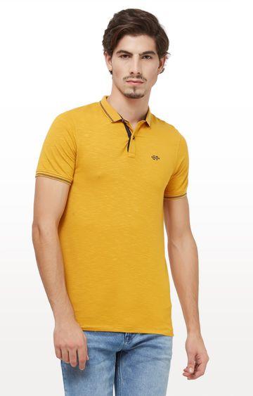 Killer   Mustard Fash Melange T-Shirt