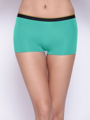 Bummer | Bummer After 8 Blue Micro Modal Boy Short For Women