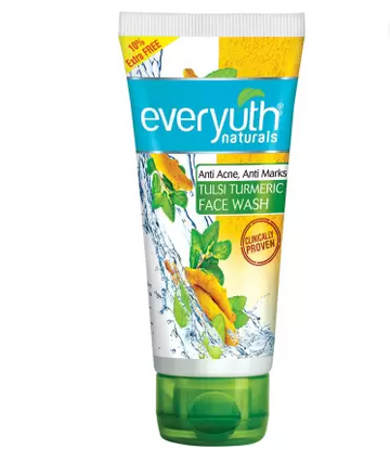 Everyuth Naturals | Everyuth Naturals Tulsi Turmeric Face Wash