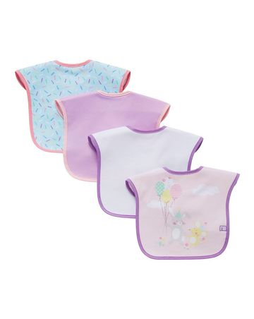 Mothercare | Confetti Party Bibs - Pack of 4