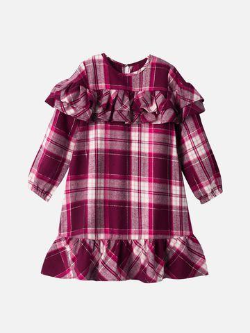 Popsicles Clothing | Popsicles Scarlet Dress Regular Fit Dress For Girl