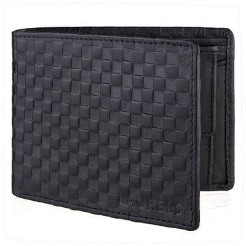 Laurels | Laurels Emperial Black Genuine Leather Premium Men Wallet.