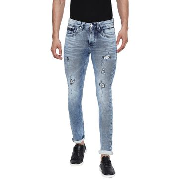 LAWMAN Pg3 | Lawman Pg3 Blue Skinny Fit Men's Jeans