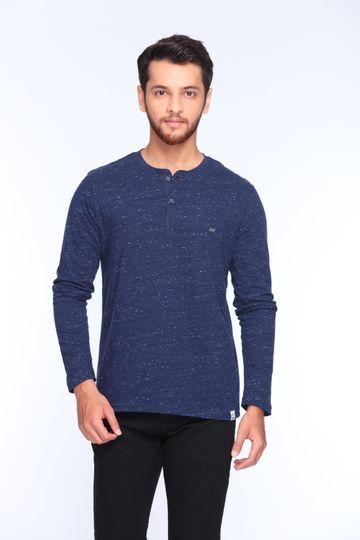 Lee | Lee Men's Blue Regular Fit Tshirt
