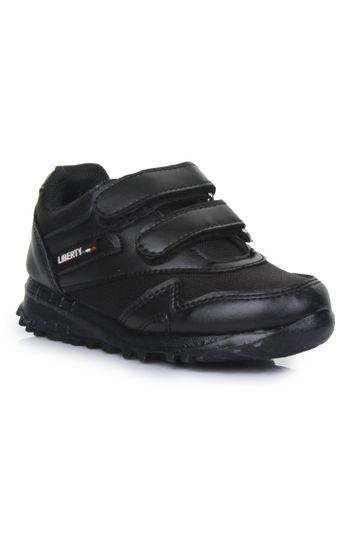 Liberty | Liberty Force 10 Black School Shoes 9906-90VGN_Black For - Boys