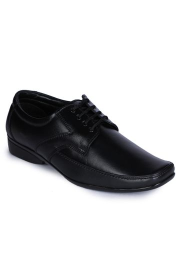 Liberty | Liberty Fortune Black Formal Derby Shoes A9H-03_Black For - Men