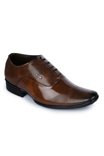 Liberty | Liberty Fortune Brown Formal Derby Shoes AGK-02_Brown For - Men