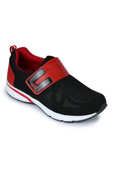 Liberty | Liberty Force 10 Black Sports Wailking Shoes BEVAN-1_Black For - Men