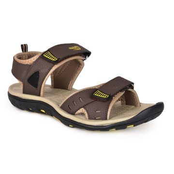 Liberty | Liberty Force 10 Brown Sports Sandals DEMON-1E_Brown For - Men