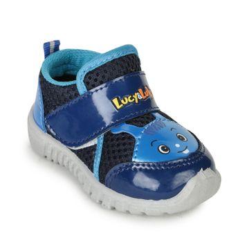 Liberty | Liberty Lucy & Luke Blue Casual Slip-ons DOLTON-6E_Blue For - Boys