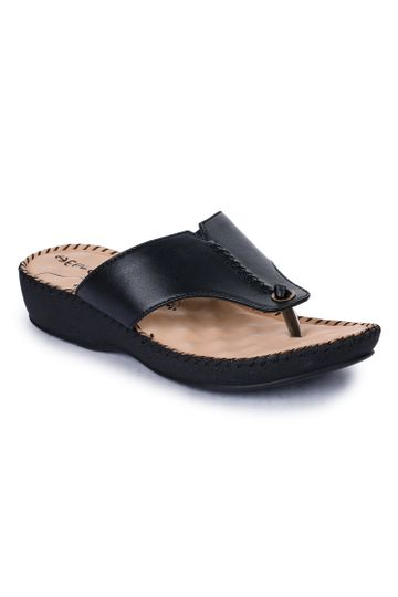 Liberty | Liberty HEALERS Slippers DR-519_BLACK For - Women