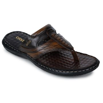 Liberty | Liberty Coolers SLIPPERS DTL-3_BROWN FOR - Men