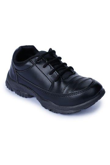 Liberty | Liberty Prefect Black School Shoes DURACOMF-5_Black For - Boys