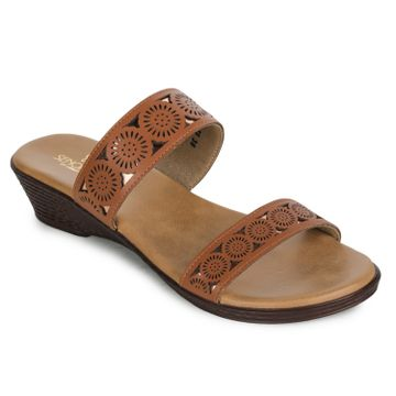 Liberty | Liberty SENORITA Slippers GF-79_TAN For - Women