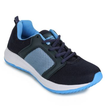 Liberty | Liberty Force 10 Blue Sports Running Shoes GRV-407_Blue For - Women