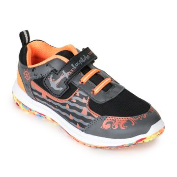Liberty   Liberty Lucy & Luke Black Sports Wailking Shoes JAMIE-14_Black For - Boys