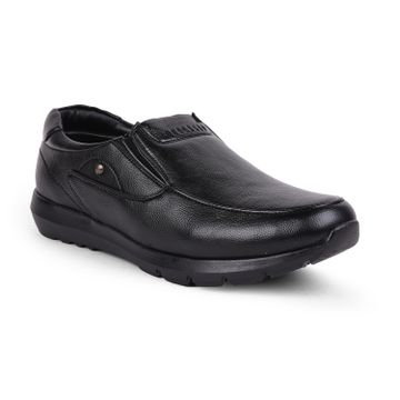 Liberty | Liberty Fortune Black Formal Oxfords Shoes JPL-68_Black For - Men