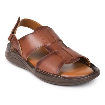 Liberty | Liberty Coolers Brown Formal Sandals LB133-01_Brown For - Men