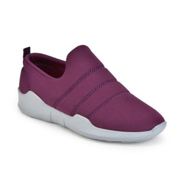 Liberty | Liberty Force 10 Casual Shoes LPW-101ME_Purple For - Ladies